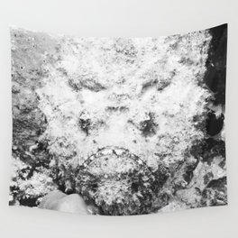Scary Stargazer Stonefish Wall Tapestry