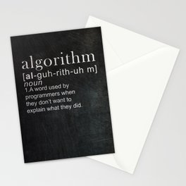 Programmer Funny Gift Idea Stationery Cards