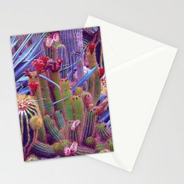 Hazardous spiky plant Stationery Cards