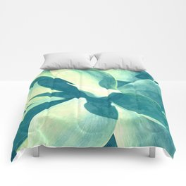Bright Agave Comforters