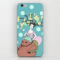Purr Hairdresser iPhone & iPod Skin