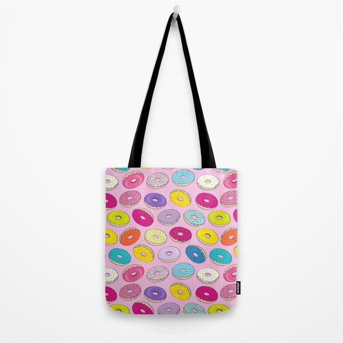 Donuts Pink Dreams Tote Bag