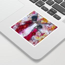 Fierce Fire Femme Sticker