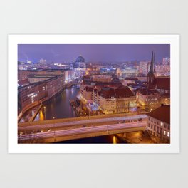 The Roofs Of Berlin Art Print