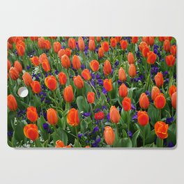 Tulip Field 2 Cutting Board