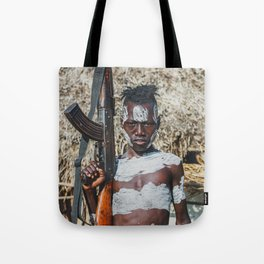 Karo Tribesboy Tote Bag
