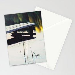 Autumn Lake, Color Film Photo, Analog Stationery Cards