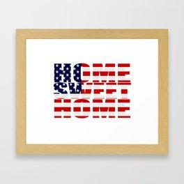 Home Sweet Home (America) Framed Art Print