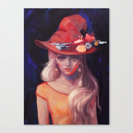 Honey Witch Canvas Print