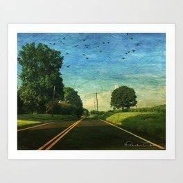 Route 94 Art Print
