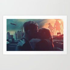 Fringe: Love in the Time of Crossing Over Art Print