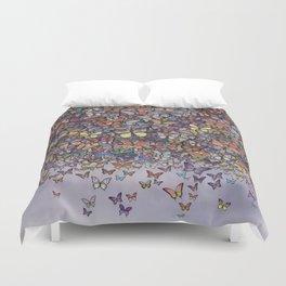 butterfly cascade Duvet Cover