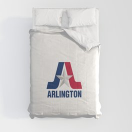 flag of Arlington Comforters