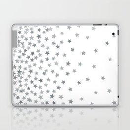 STARS SILVER Laptop & iPad Skin