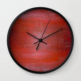 Over The Horizon Wall Clock
