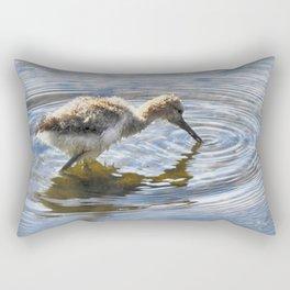 American Avocet Chick Rectangular Pillow