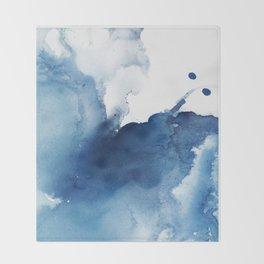 Deep Blue Sea Throw Blanket