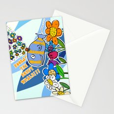 HOORAY THE HONEY WHALE Stationery Cards