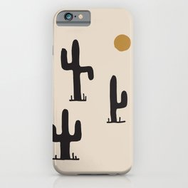 saguaro silent disco iPhone Case