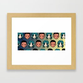 YYH: Poetic Justice Framed Art Print