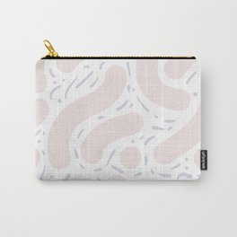 Wibbly Wobbly - Light pastels Carry-All Pouch