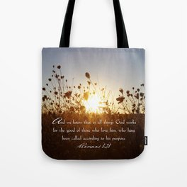 In All Things Tote Bag