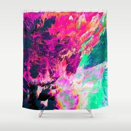 Eudokía (Abstract 42) Shower Curtain