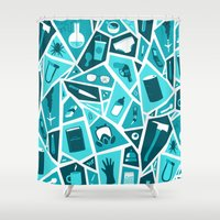 breaking bad Shower Curtains featuring Breaking Bad by Felix Rousseau