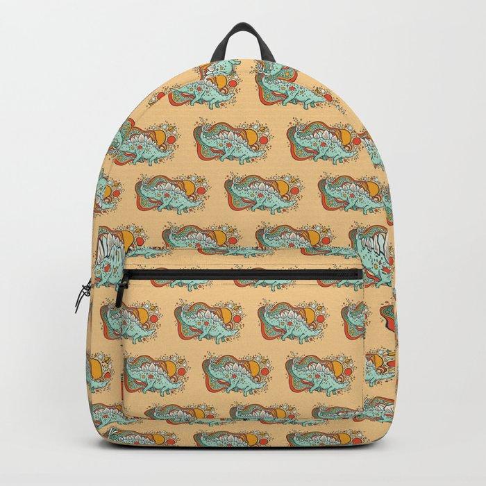 Star Stego | Retro Reptile Palette Backpack