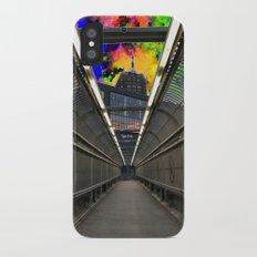 Tunnel Vision iPhone X Slim Case