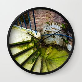 Stairway to Adventure Wall Clock
