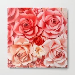 Rose rose Metal Print