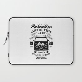 summer paradise catch the waves Laptop Sleeve