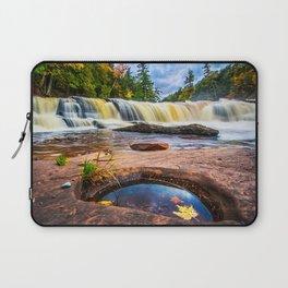Mandio Falls - Porcupine Mountains Laptop Sleeve