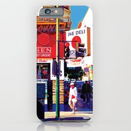 San Francisco Deli Vintage iPhone Case