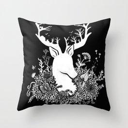 My Deerest Throw Pillow