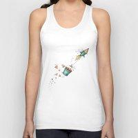 rocket Tank Tops featuring Rocket by Catru