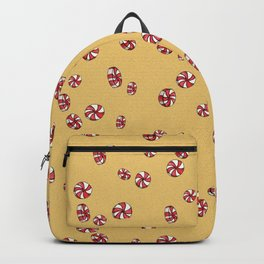Peppermint Candy in Yellow Backpack