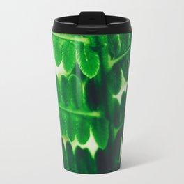 Electric Green Fern Travel Mug