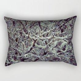 Green Lichen Rectangular Pillow