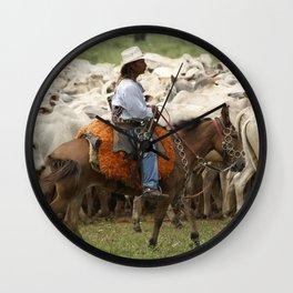 Lides de campear Wall Clock