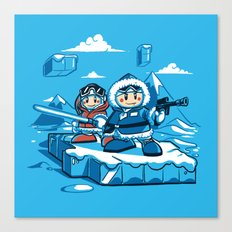 Hoth Climbers Canvas Print
