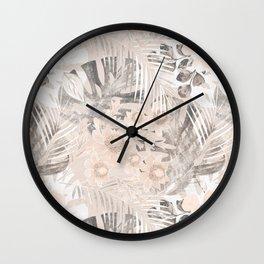 Tropical mix. 3 Wall Clock