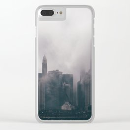 Chicago Shrouded in Fog Clear iPhone Case