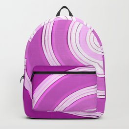 shining purple Backpack