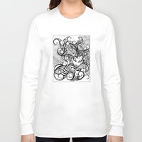 cheshire cat Long Sleeve T-shirts featuring cheshire cat by vasodelirium