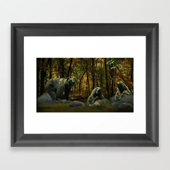 Forest Songs Framed Art Print