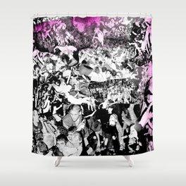 Punk Show Slam Pit Shower Curtain