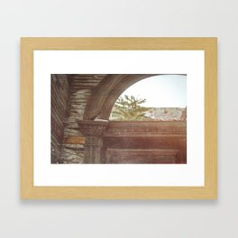 Ghosts of the Past Jerome Arizona Framed Art Print