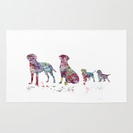 Labrador family Rug